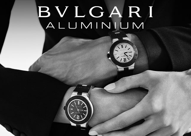 BULGARI ALUMINIUM, the icon comes back, find it in Andorra in Pons & Bartumeu